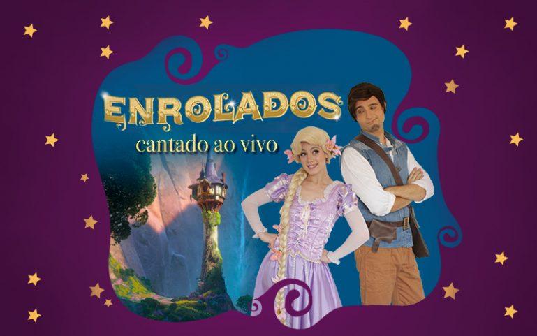 """""""Enrolados, O Musical"""" entra em cartaz no Teatro Dr Botica nas férias de julho"""