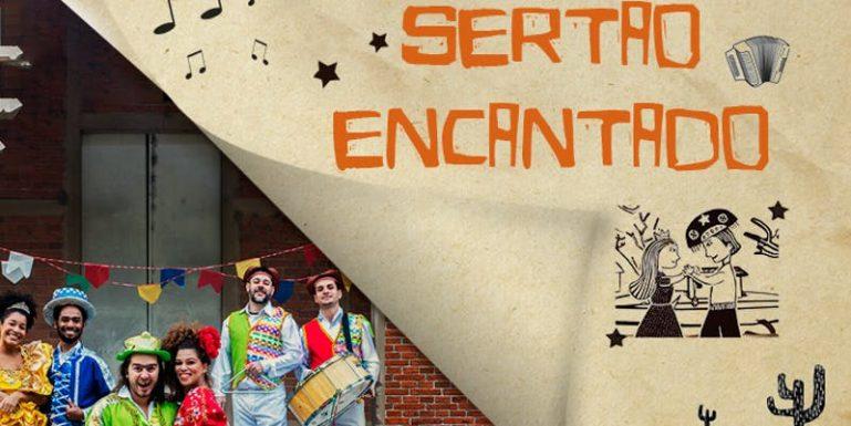 Em clima junino e ótimas canções, espetáculo Sertão Encantado, no Teatro Dr. Botica, encanta adultos e crianças