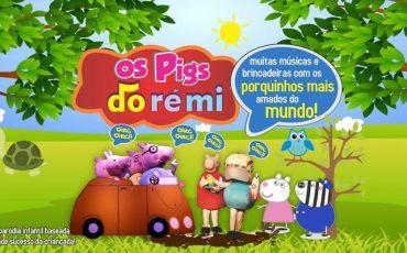 """""""Os Pigs Dó-Ré-Mi– Os porquinhos mais amados do mundo"""" em nova temporada no Teatro BTC e desconto do Passeios Kids"""