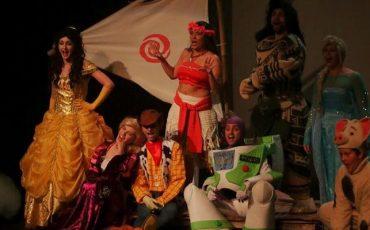 """Espetáculo """"Moana, uma aventura nos Contos de Fadas"""" chega ao Teatro Santo Agostinho com desconto do Passeios Kids"""