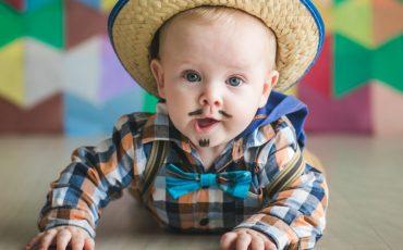 Bebês e crianças pequenas ganham Festa Junina no Brincando no Pé