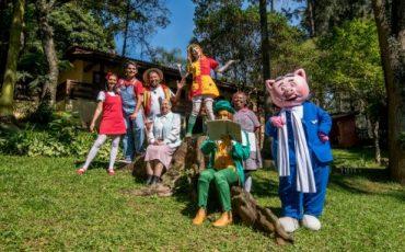 Sítio do Picapau Amarelo abre suas portas para as famílias nas férias