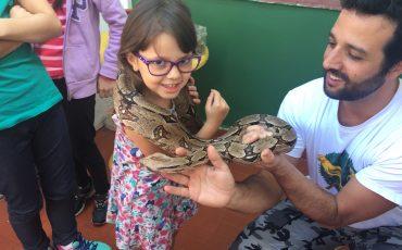 S.O.S. Ambiental promove Educação Ambiental para crianças