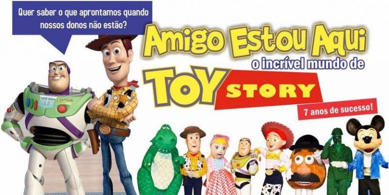 Musical do Toy Story encanta crianças e adultos no Teatro BTC e tem desconto no Passeios Kids
