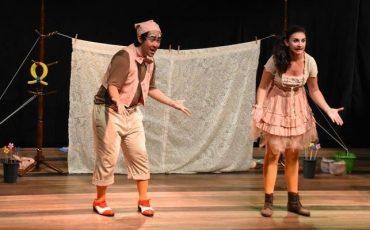 """Espetáculo infantil """"É Como Diz o Ditado"""" faz apresentação em Santo Amaro com ingresso a R$ 15,00"""