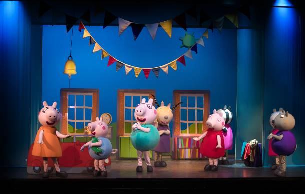 Turnê internacional do infantil Peppa Pig Live Tour 2 – Show Oficial faz estreia nacional no Teatro J. Safra