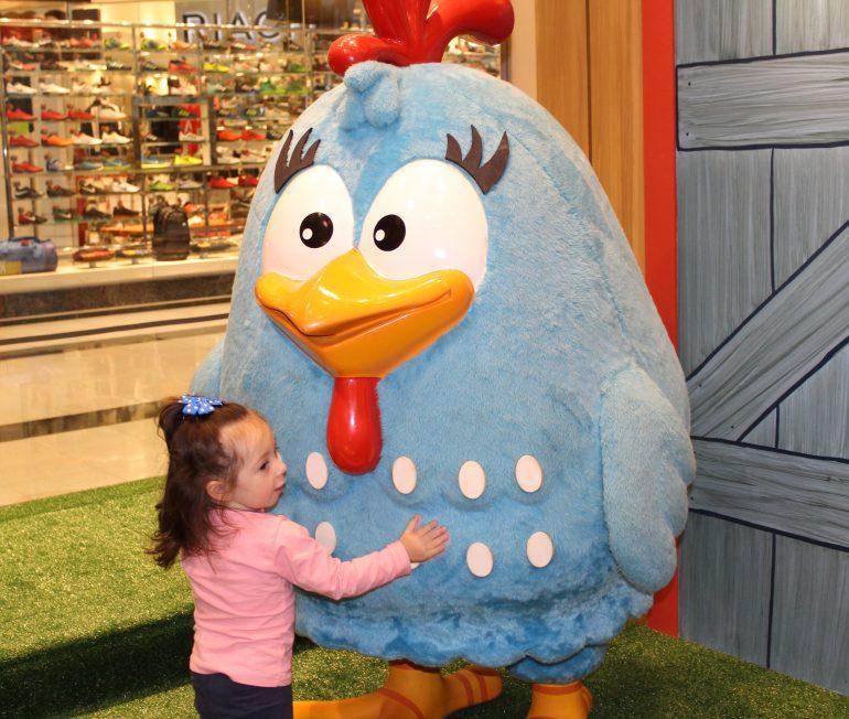 Galinha Pintadinha no Central Plaza Shopping com atividades gratuitas para a criançada