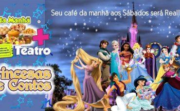 Teatro BTC terá Café da Manhã com Princesas
