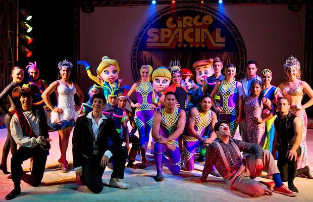 Circo Spacial é ótima dica de passeio e tem desconto no Passeios Kids