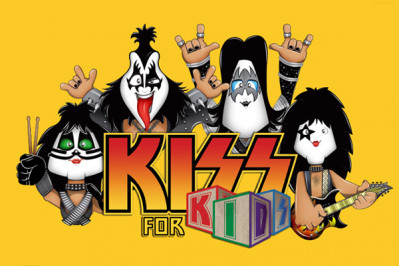 Kiss For Kids agitará o Theatro Net em agosto