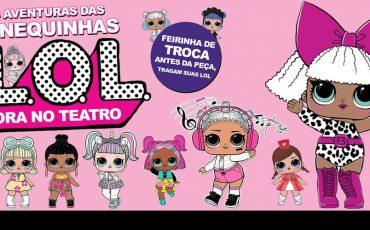 Espetáculo das bonequinhas LOL Surprise acontece na Vila Mariana
