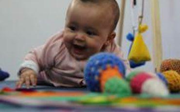 Oficina para Bebês no Brincando no Pé