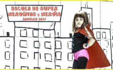 Inspira traz Escola de Heroínas e Heróis nas férias