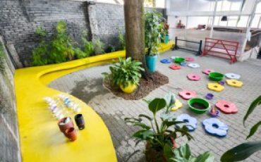 Quintal 7 Cores garante a diversão das crianças nas férias