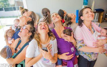 Cadê agora tem Dança Materna para mães e bebês