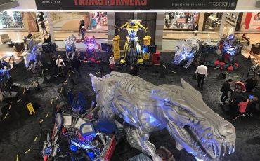 """Exposição internacional """"Transformers"""" chega no Shopping Anália Franco"""