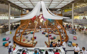 Biblioteca Parque Villa-Lobos recebe artistas e crianças com foco no incentivo à leitura