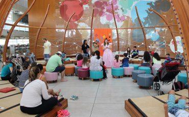 Férias na Biblioteca Parque Villa-Lobos garante passeio ao ar livre e diversão para crianças de todas as idades