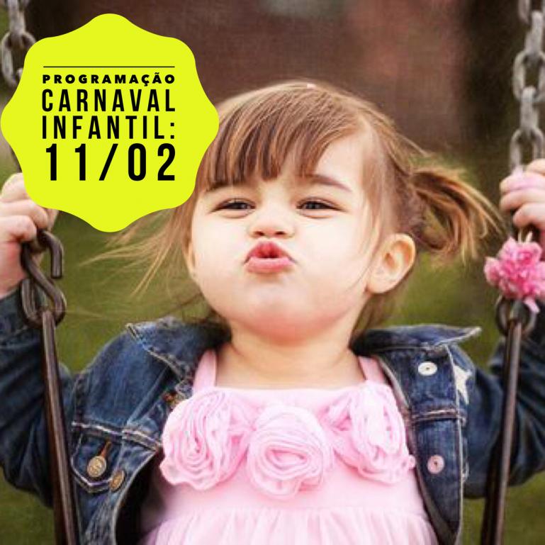 9846e95e5 Programação do Carnaval Infantil: Domingo, 11/02 - Passeios Kids