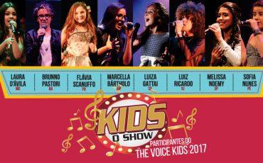 Theatro Net São Paulo recebe mega show de ex participantes do The Voice Kids