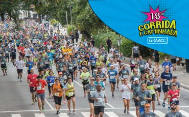 Corrida e Caminhada GRAACC terá edição com Corrida Kids