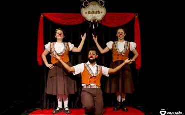 GRATUITO! Sesc Pinheiros promove vivência sobre palhaço e espetáculo com Trupe Dunavô