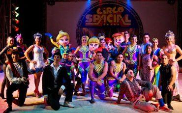 Circo Spacial apresenta espetáculo Variedades