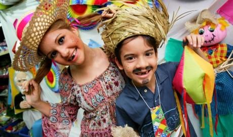 Arraial Kids gratuito diverte a criançada no Shopping Frei Caneca