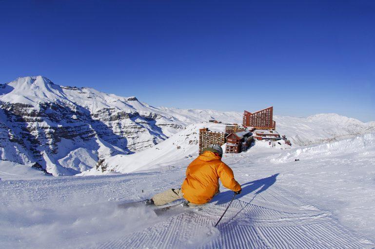 Valle Nevado é cheio de atrações para as crianças aproveitarem a neve