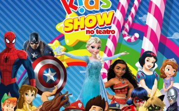 Kids Show de Férias tem Tarzan e Jane, Patrulha Canina, Princesinha Sofia e muitos outros personagens
