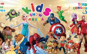 Kids Show Arena reúne shows de personagens, oficinas, camarim fashion, food park, sorteios e muito mais