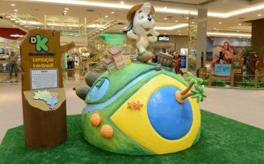 """Gratuito! Férias do Shopping Plaza Sul com Exposição Discovery Kids """"É do Brasil!"""""""