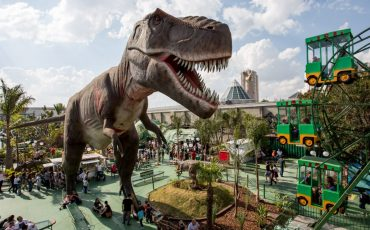 T-Rex Park, o parque de dinossauros em Campinas, diverte crianças de todas as idades