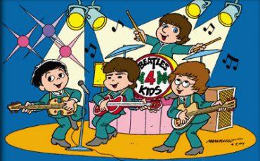 Crianças curtem feriado com musical Beatles 4Kids no Paris 6 Burlesque