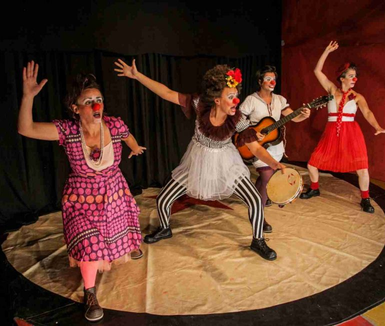Circo di SóLadies leva espetáculo gratuito de palhaçaria feminina ao SESC Osasco