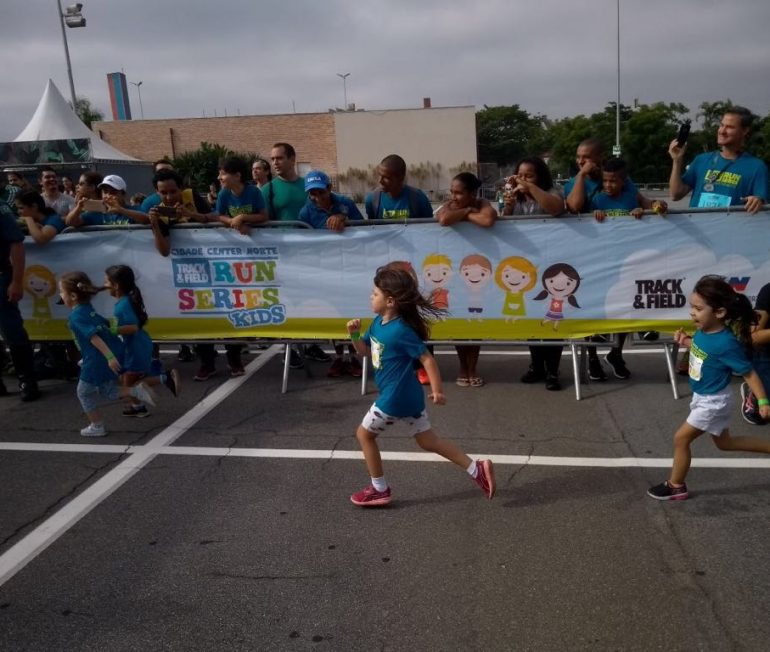 Corrida Infantil: Center Norte recebe Santander Track&Field Run Series II 2018