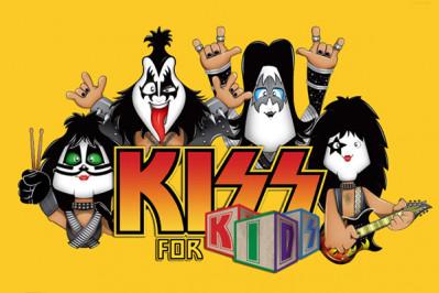 Kiss For Kids agitará o Theatro Net em agosto