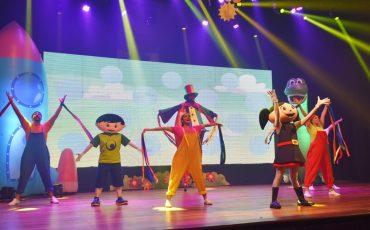 O Show da Luna – Ao Vivo é atração para a criançada, neste sábado, no Teatro Bradesco