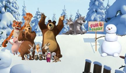Fun4family Inaugura Floresta Masha E O Urso Com 10 Atracoes Tematicas