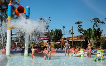 Hot Beach, em Olímpia, é ótima opção para viagem em família