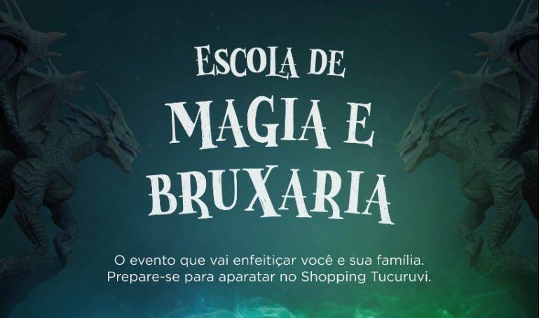 2f4a26834c45d Shopping Metrô Tucuruvi recebe a Escola de Magia e Bruxaria ...