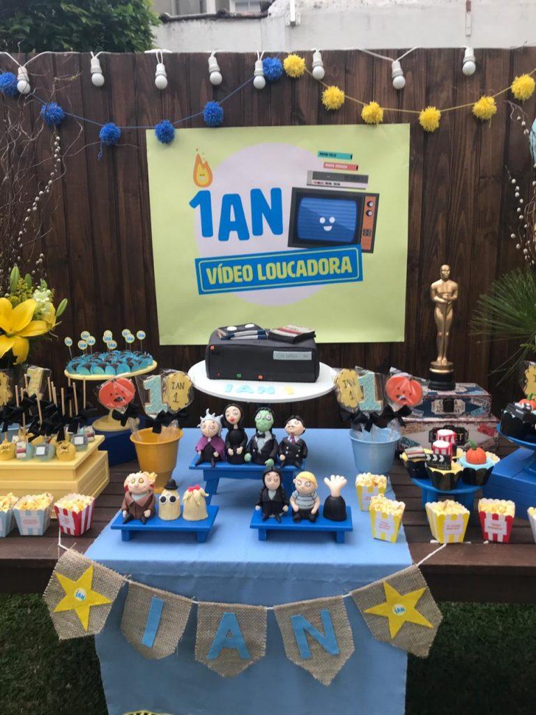 Inspiração para Festa Infantil: Família Adams, por Débora Necchi