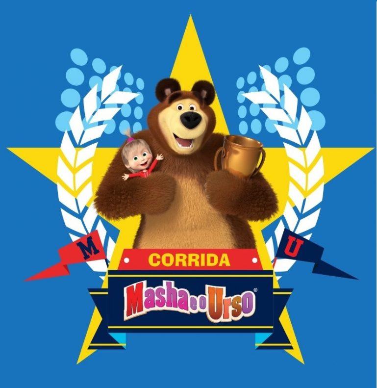 """Tietê Plaza Shopping promove """"Corrida Masha e o Urso"""" para o público infantil"""