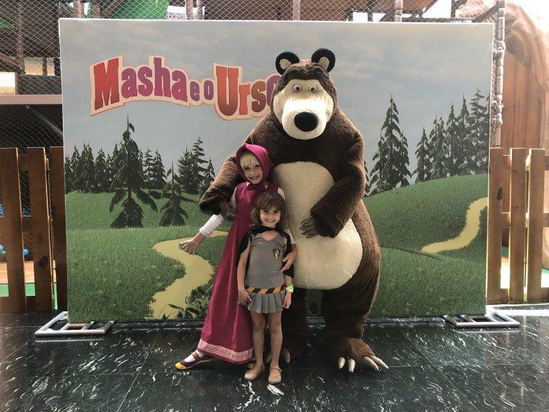 Férias no Mooca Plaza Shopping tem Masha e o Urso