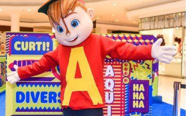 """Férias! """"Mundo Gloob"""" no Shopping West Plaza traz diversão com circuito dos personagens infantis Ladybug, Alvin e os Detetives do Prédio Azul"""