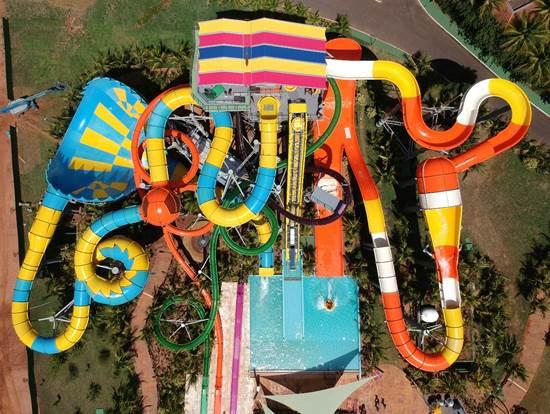Tem novidade em Olímpia! Thermas dos Laranjais inaugura o Lendário, nova atração radical de um dos parques aquáticos mais visitados do mundo