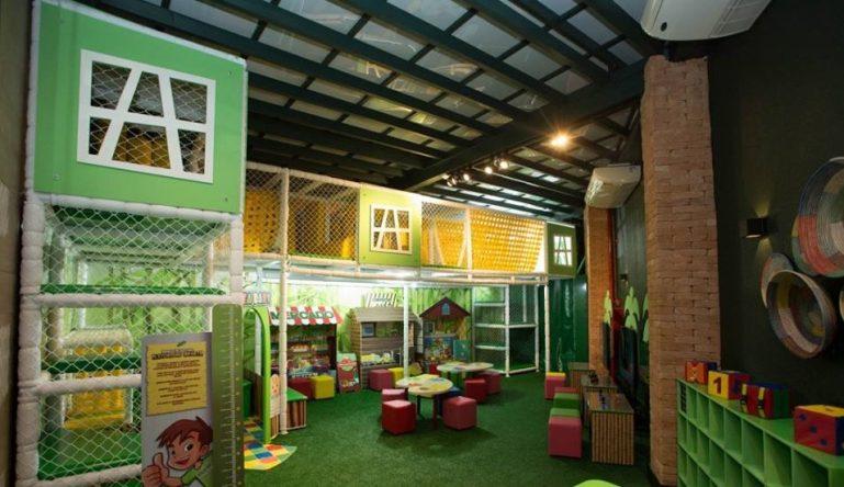 Coco Bambu Anhembi: restaurante com ótimo espaço kids, monitoria e lounge exclusivo