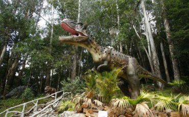 Começa a construção do Vale dos Dinossauros em Olímpia e não estamos sabendo lidar com essa notícia!