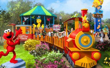 Sesame Street, no SeaWorld Orlando, terá parada, brinquedos de água e encontro com personagens