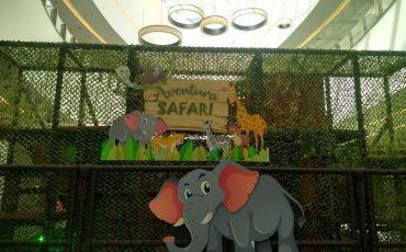 Aventura Safari, no Cantareira Norte Shopping, tem muita diversão para a criançada